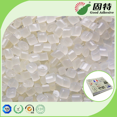 EVA Hot Melt Book Binding Glue Adhesive , Semi Transparent Pur Hot Melt Glue Adhesive Pellets For Flat Back Album